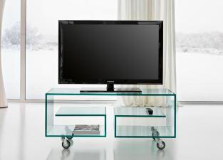 Tonelli Flo Glass TV Unit