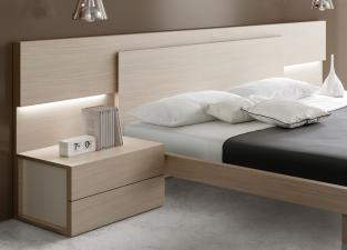 Fuji Contemporary Bed