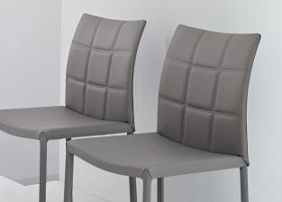 Bonaldo Gilda Leather Dining Chair