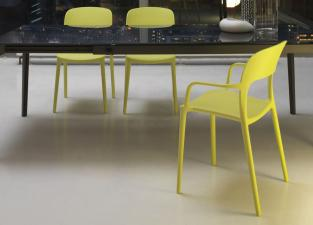 Bontempi Gipsy Dining Chair With Arms