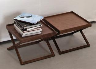 Vibieffe Glam Square Coffee Table