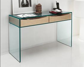 Tonelli Gulliver 2 Glass Console Table