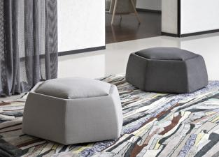 Saba Honey Coffee Table / Pouf