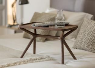 Porada Ics Side Table With Removable Tray