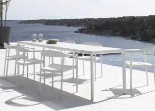 Tribu Illum Slim Garden Dining Table