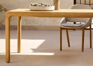 Tribu Illum Teak Garden Dining Table