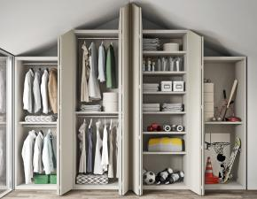 Inclinato Bedroom Wardrobe