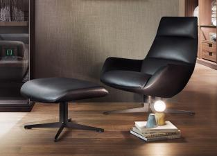 Lema Lady Jane Armchair and Pouf