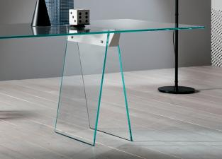 Tonelli Kasteel Glass Desk