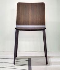 Bontempi Kate Dining Chair with Metal Legs