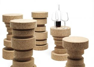 Mogg King & Queen Side Tables/Stools