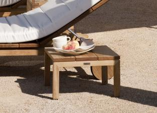 Tribu Kos Teak Garden Coffee/Side Table/Footrest