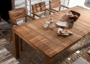 Tribu Kos Teak Garden Dining Table