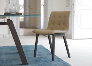 Bontempi Kuga Dining Chair (Wood)