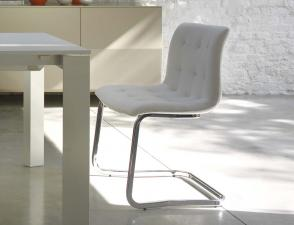 Bontempi Kuga Dining Chair (Metal Frame)