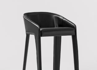 Bonaldo Lamina Too Bar Stool