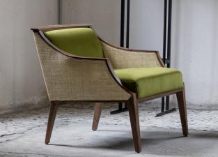 Porada Liala Straw Easy Chair