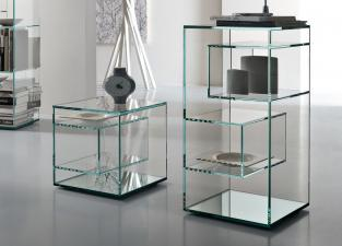 Tonelli Liber Glass Bookcase