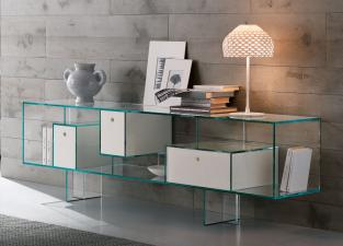 Tonelli Liber Glass Sideboard