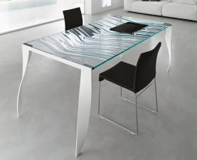 Tonelli Luz De Luna Glass Desk