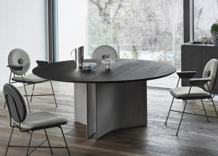 Bontempi Magnum Round Dining Table