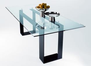 Tonelli Miles Glass Dining Table