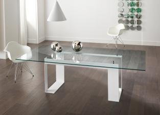 Tonelli Miles White Dining Table