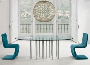 Bonaldo Mille Oval Dining Table