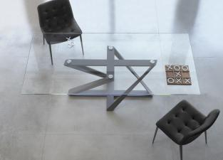 Bontempi Millennium Glass Dining Table