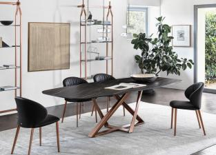 Bontempi Millennium Barrel Top Dining Table