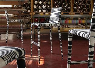 Missoni Home Mister Bar Stool