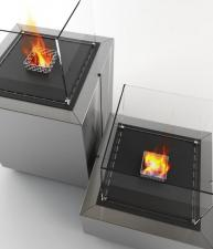 Decoflame Monaco Square Indoor/Outdoor Bioethanol Fire