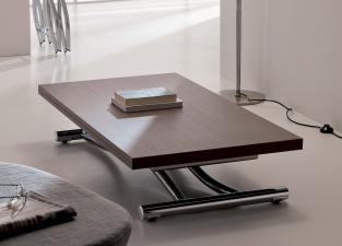 Ozzio Mondial Transformable Table in Wood