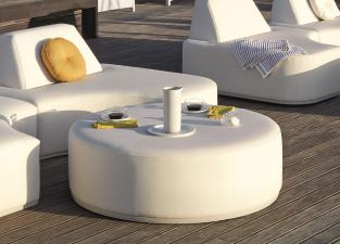 Manutti Moon Island Table/Footstool