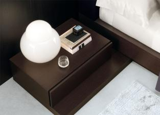Jesse Nap Bedside Cabinet in Wood
