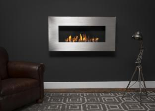Nero Wall Mounted Bio Ethanol Fire