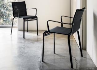 Bontempi Net Dining Chair with Arms