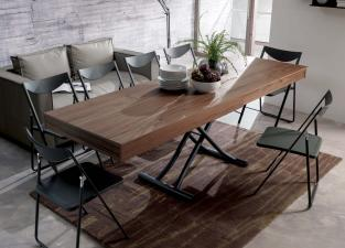 Ozzio Newood Transformable Table