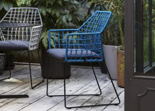 Saba New York Soleil Garden Chair with Arms