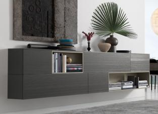 Jesse Open Wall Unit R56