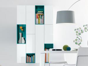 Jesse Open Wall Unit R62