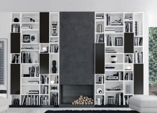 Jesse Open Bookcase R65