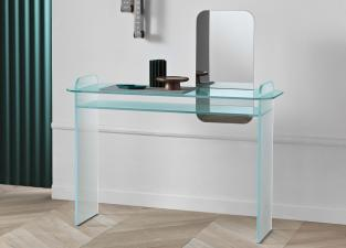 Tonelli Opalina Glass Desk