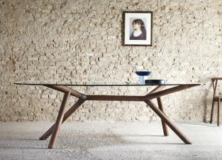 Miniforms Otto Glass Dining Table