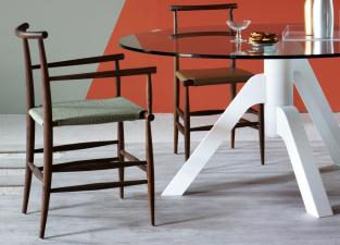 Miniforms Pelleossa Dining Chair with Arms