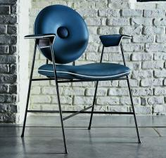 Bontempi Penelope Dining Chair With Arms