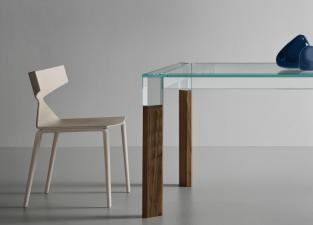 Tonelli Perseo Glass Dining Table