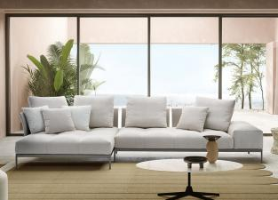 Saba Pixel Light Corner Sofa (Indoor)