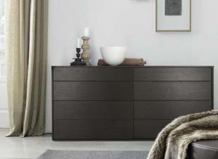 Jesse Plan Chest of Drawers in Wood