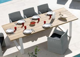 Manutti Prato Teak Garden Table